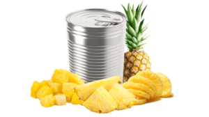 Pineapple in can