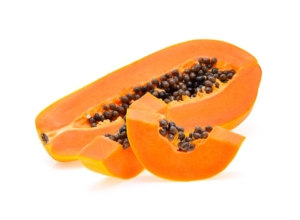 Papaya in can