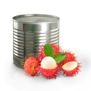 Rambutan in can